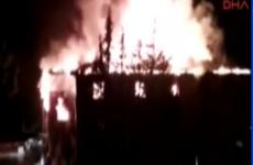 Teacher and 11 schoolgirls die in dormitory fire in Turkey after emergency escape locked