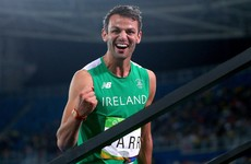 Thomas Barr's Olympic exploits recognised as he wins national athletics award