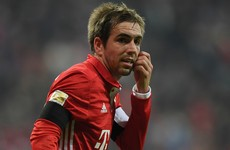 Hoeness warns 'outstanding' Lahm against early retirement