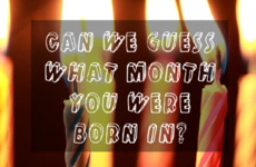 Can We Guess What Month You Were Born In?