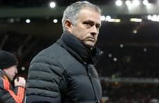 Mourinho hit with touchline ban for kicking water bottle