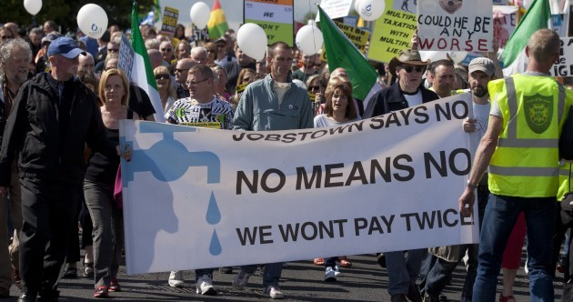 FactCheck: How many people boycotted water charges?