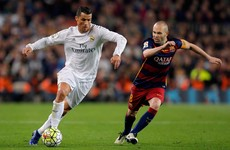 There's a TV blackout on the first El Clasico of the season this weekend