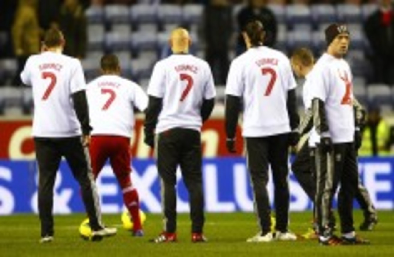 online store 044b2 173ac POLL: Are Liverpool FC players right to show solidarity with ...