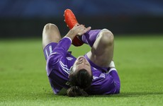 Gareth Bale's chances of being fit to face Ireland are looking increasingly unlikely