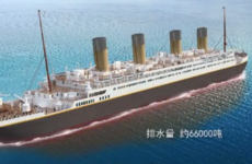 China is building a full-size replica of the Titanic