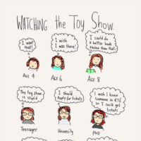 An Irish illustrator has perfectly captured what it's like to watch the Toy Show as an adult