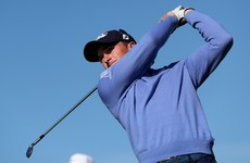 Paul Dunne wasn't able to build on his strong opening round in South Africa
