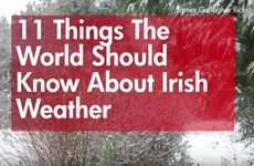 11 things the world should know about Irish weather