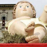 The Vatican's Baby Jesus is rather big