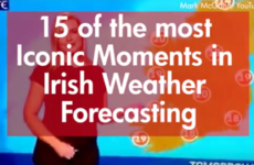 15 of the Most Iconic Moments in Irish Weather Forecasting