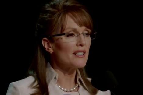 Julianne Moore as Palin