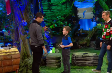 Rory McIlroy and Jamie Heaslip surprise young fans on the Toy Show