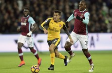Hat-trick hero Alexis Sanchez inspires Arsenal to win at West Ham