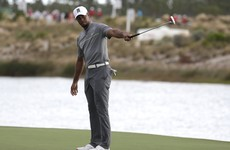 Tiger sizzles then fizzles at Hero World Challenge