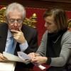 Italian parliament passes vote of confidence in Monti's government