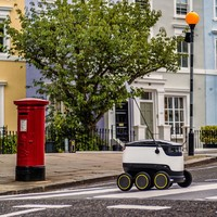 The creator of Skype is looking to take down couriers with his army of robots