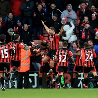 Liverpool's undefeated run ended by 3 late Bournemouth goals