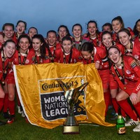 After being crowned WNL champions during the week, Shelbourne lifted the trophy today