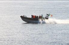 Irish navy recovers three bodies during Mediterranean rescue operation