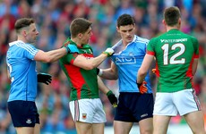 'Diarmuid Connolly was struck about 6 times before the ball was even thrown in'