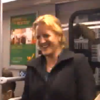 WATCH: An entire Berlin subway laughs for absolutely no reason