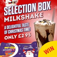 A restaurant in Belfast has created a Selection Box Milkshake, and things will never be the same