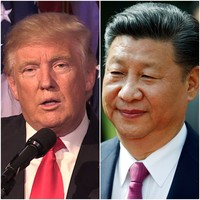 Donald Trump is using his Twitter account to take on China