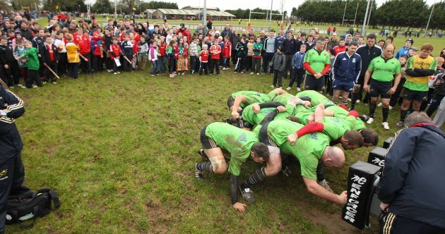 In pictures: John 'The Bull' Hayes bids a fond farewell to Munster