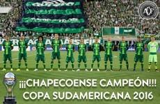 Chapecoense crowned Copa Sudamericana champions a week after tragic plane crash