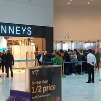 The queue for the opening of the new Penneys in Liffey Valley this morning was bonkers