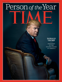 Donald Trump is TIME's Person of the Year 2016