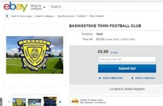Fancy owning a football club? Non-league side up for auction on eBay from 99p