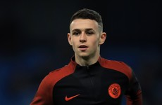 Pep Guardiola names 16-year-old on Man City bench for Champions League clash with Celtic