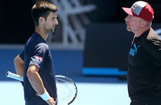 Novak Djokovic splits from coach Boris Becker after three years