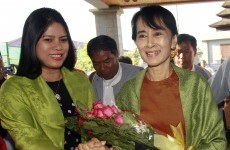 Aung San Suu Kyi registers her party for upcoming elections in Burma