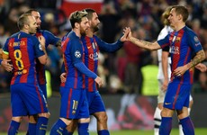 Pass masters! Barcelona set a new Champions League record tonight