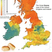 A new map reveals how different counties across Ireland pronounce scone