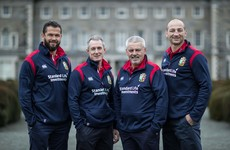 Ireland's Andy Farrell confirmed as Lions assistant coach