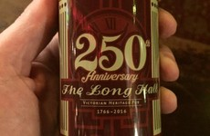 Heineken made a special bottle to celebrate Dublin's Long Hall pub turning 250