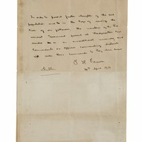 Unsold!: 1916 surrender letter set to leave Ireland after auction fails to reach €1m