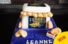 This chicken nuggets 21st birthday cake is the pride of Skerries