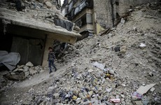 'Too little, too late' - Syrian army halts shelling of Aleppo to allow trapped civilians to leave