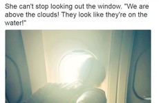 This story of a woman's first ever time on a plane is charming everyone