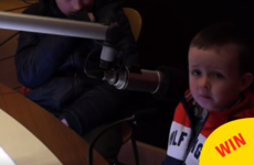 This Cork toddler's radio interview about Santa is ridiculously adorable