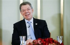 'A gift from heaven' - Colombian President receives Nobel Peace Prize