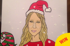 An artist from Kildare is painting these lovely diva Christmas cards