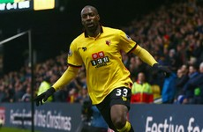 Okaka double helps Watford add to Toffees' away-day woes