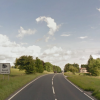 Two men dead after car collision near Omagh