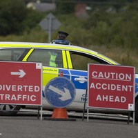 Young man killed in motorcycle crash at Dublin roundabout